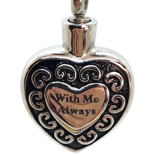 """Design 1103 SGS """"With me Always"""" 3/4""""H x 3/4"""" W"""
