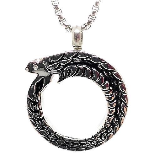 "Design 1244 Serpent Pendent SGS, EN 1"" H x 1"" W"