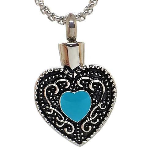 """Design 1413 Filigree Heart SGS., EN 3/4"""" H x 3/4"""" W"""