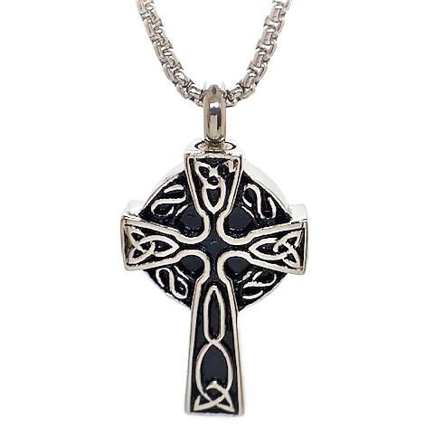 """Design 1417 Celtic Cross SGS., EN 1 1/4"""" H x 3/4"""" W"""