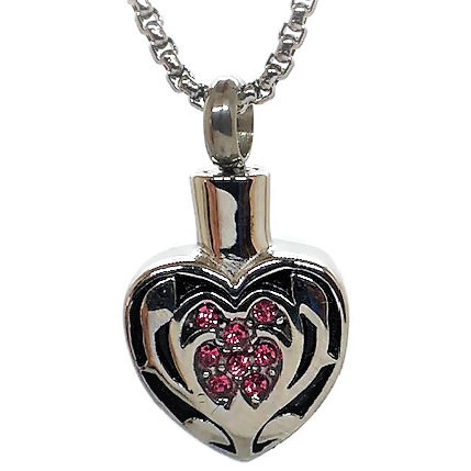 "Design 1421 Heart with Turtle SGS., ZG, EN 1"" H x 3/4"" W"
