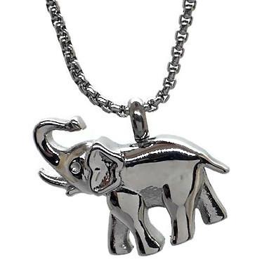 "Design 1437 Elephant Pendent SGS., 1"" H x 1"" W"