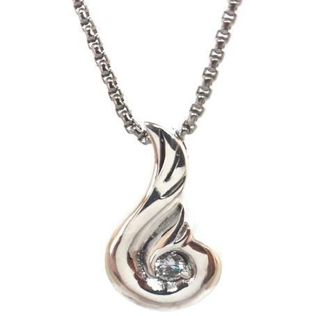 "Design 1501 Contemporary Sterling Silver 1 1/4"" H x 3/4"" W"