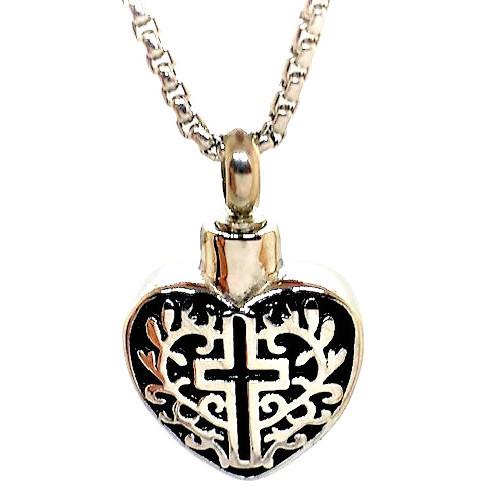 """Design 1516 Heart / Cross SGS., EN, 3/4"""" H x 3/4"""" W"""