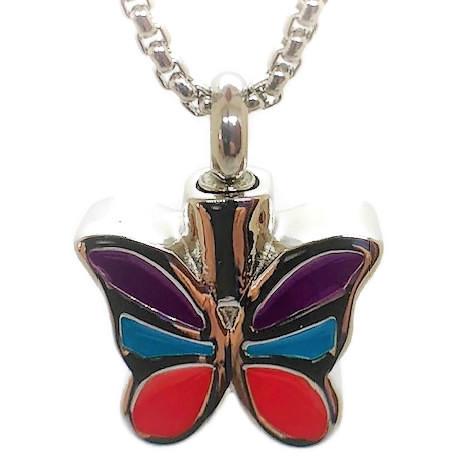 "Design 1520 Butterfly Pendent SGS, EN3/4"" H x 3/4"" W"