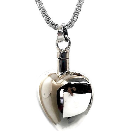"Design 1522 Sterling Heart Sterling Silver 3/4"" H x 3/4"" W"