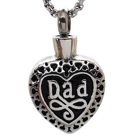 """Design 1533 'Dad"""" HeartSGS., EN, 3/4"""" H x 3/4"""""""