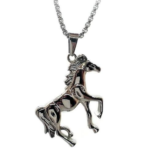 """Design 1604 Horse Pendent SGS., EN, 1 1/2"""" H x 1"""" W"""