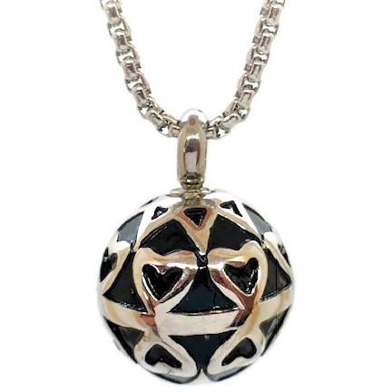 "Design 1620 Sphere / Hearts SGS., EN, 3/4"" H x 3/4"" W"