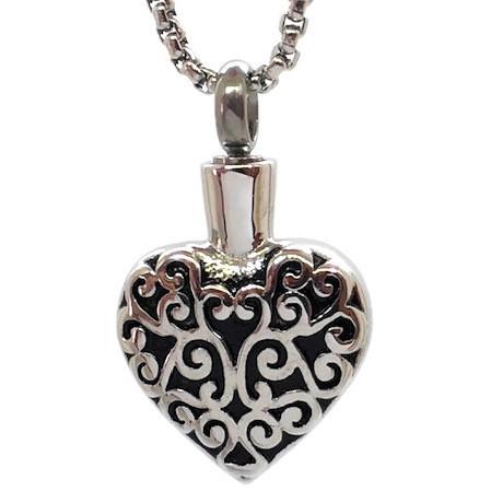 """Design 1629 Filigree Heart SGS., EN, 3/4"""" H x 3/4"""" W"""