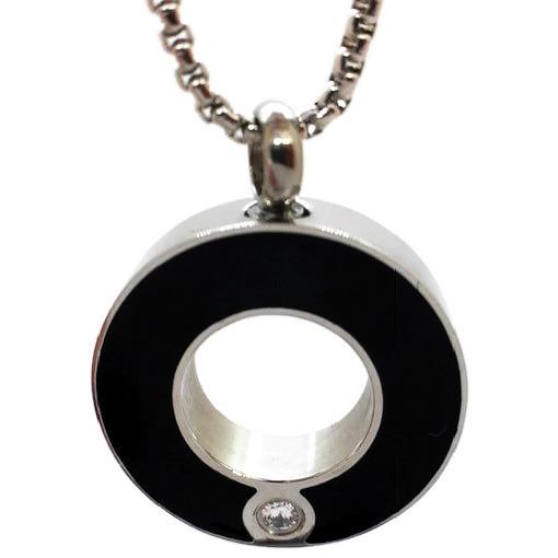 """Design 1726 Circular with Gemstone SGS., EN, 1"""" H x 1"""" W"""