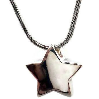 """Design 1815StarSterling Silver3/4"""" H x 3/4"""" W"""