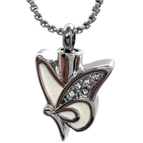 "Design 1826 Butterfly Pendent SGS, ZG, EN, 1"" H x 3/4"" W"
