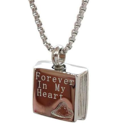 """Design 1912 """"Forever In My Heart"""" SGS, EN, 3/4"""" H x 3/4"""" W"""