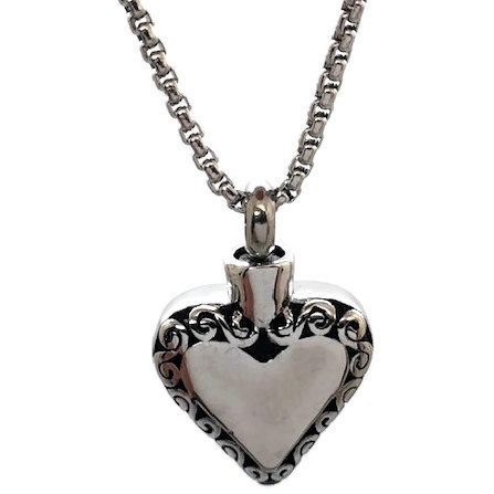 """Design 2009 Filigree Heart SGS, EN, 3/4"""" H x 3/4"""" W"""