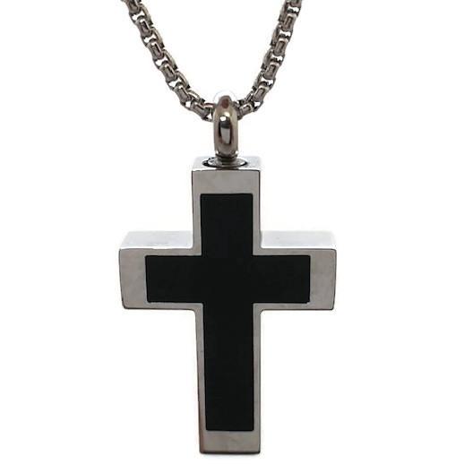 """Design 2013 Black / Silver Cross SGS, EN3/4"""" H x 3/4"""" W"""