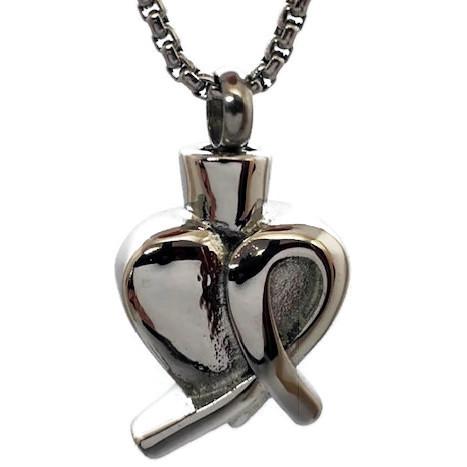 """Design 2121 Heart - Ribbon SGS, EN, 1"""" H x 1"""" W"""