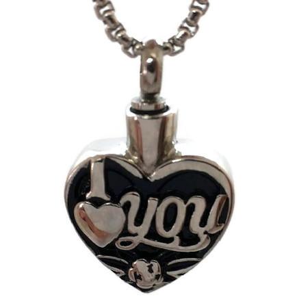 "Design 2128 ""I love You"" SGS, EN, 3/4"" H x 3/4"" W"
