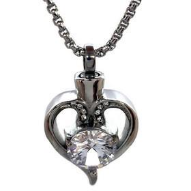 """Design 2310 Heart / Gemstone SGS, ZG, EN, 1"""" H x 3/4"""" W"""