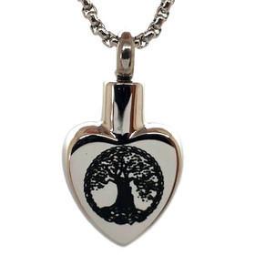 "Design 2314 Heart - Tree of Life SGS, EN, 3/4"" H x 5/8"" W"