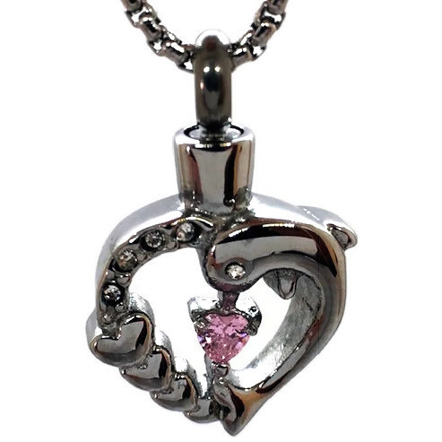 "Design 2320 Heart / Gemstone SGS, ZG, 3/4"" H x 3/4"" W"