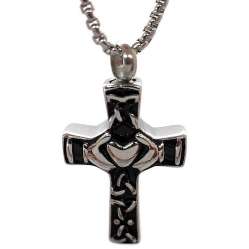 """Design 2325 Celtic Cross SGS, EN, 1 1/4"""" H x 3/4"""" W"""