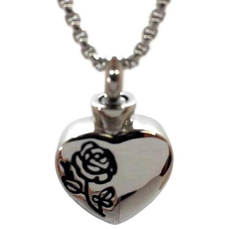 "Design 2336 Heart / Rose SGS, EN, 3/4"" H x 3/4"" W"