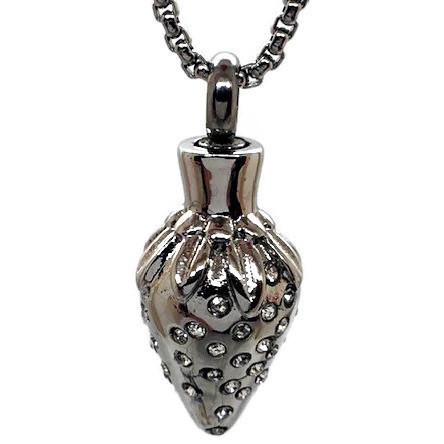 "Design 2456 Heart Pendent SGS, ZG, 1"" H x 5/8"" W"
