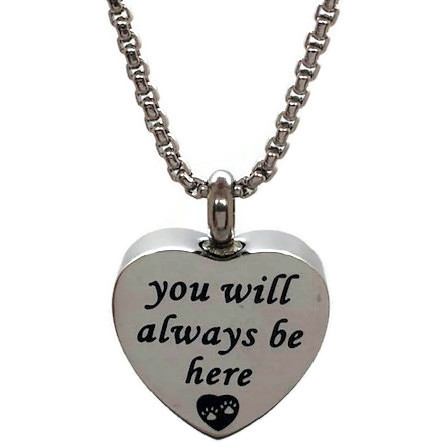 "Design 2474'Always Be Here'SGS, EN3/4"" H x 3/4"" W"