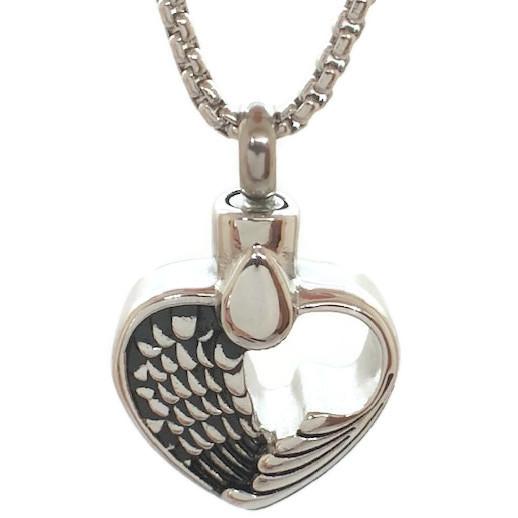 """Design 2604 Heart / Wings SGS, EN, 3/4"""" H x 3/4"""" W"""