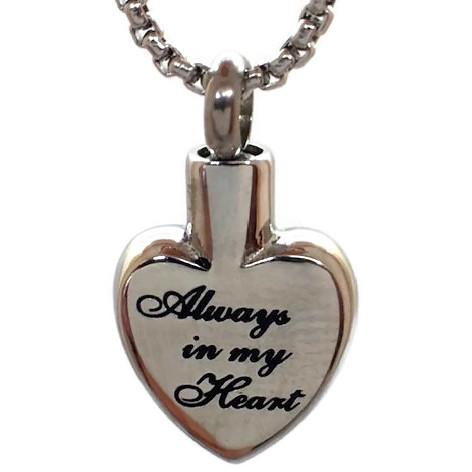 "Design 2622 ""Always in My Heart"" SGS, EN, 3/4"" H x 5/8"" W"